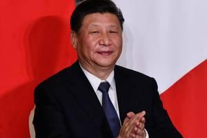 Presedintele Chinei, Xi Jinping, în cursul vizitei sale la Roma, 23 martie 2019