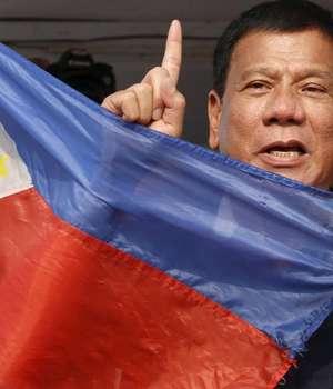 Rodrigo Duterte, preşedintele statului filipinez