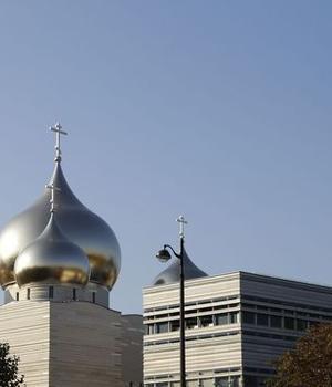 Centrul spiritual si cultural rus din Paris, la doi pasi de Turnul Eiffel