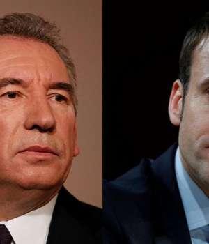 François Bayrou si Emmanuel Macron