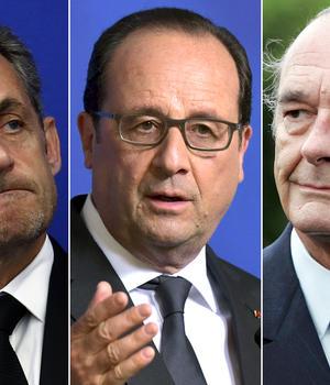 Nicolas Sarkozy, François Hollande si Jacques Chirac, cei trei presedinti francezi spionati de americani