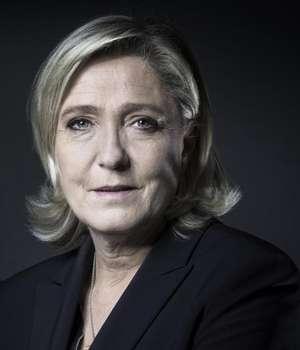 Marine Le Pen, candidata Frontului National