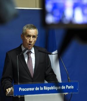 François Molins, procurorul din Paris, la conferinta de presà în cursul càreia a revenit asupra atacului de la bordul trenului Thalys
