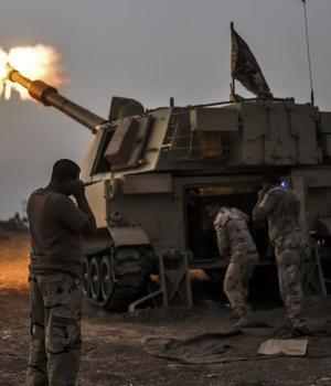 Fortele irakiene în drum spre Mosul, 19 octombrie 2016