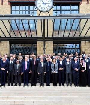 Participantii la Conferinta de Pace din Paris asupra Orientului apropiat, 15 ianuarie 2017