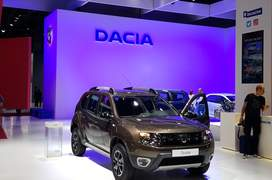 Standul Dacia la Mondialul auto Paris 2016