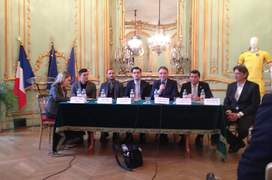 Responsabilii FRF si ambasadorul României în Franta reuniti în saloanele resedintei ambasadorului