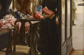 James Tissot, La demoiselle de magasin, Art Gallery of Ontario, Toronto, Canada