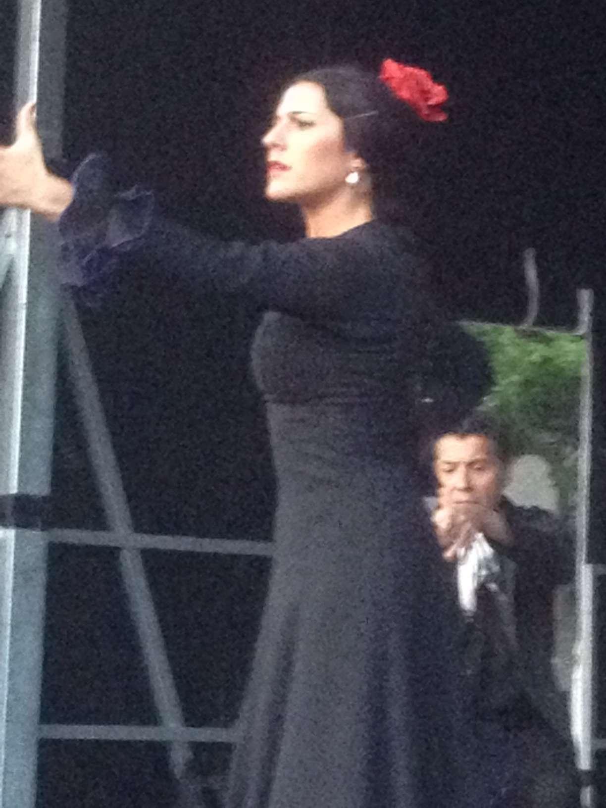 Dansatoare de flamenco