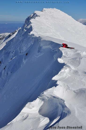 Laura Matei,  Munții Retezat. Foto: Ioan Stoenică