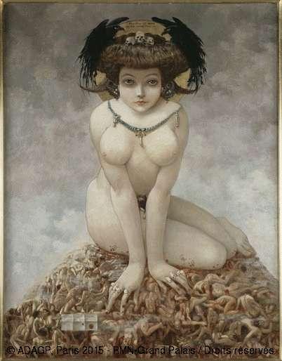 Gustav-Adolf Mossa, Elle, Nice, Musée des Beaux-Arts Jules Chéret