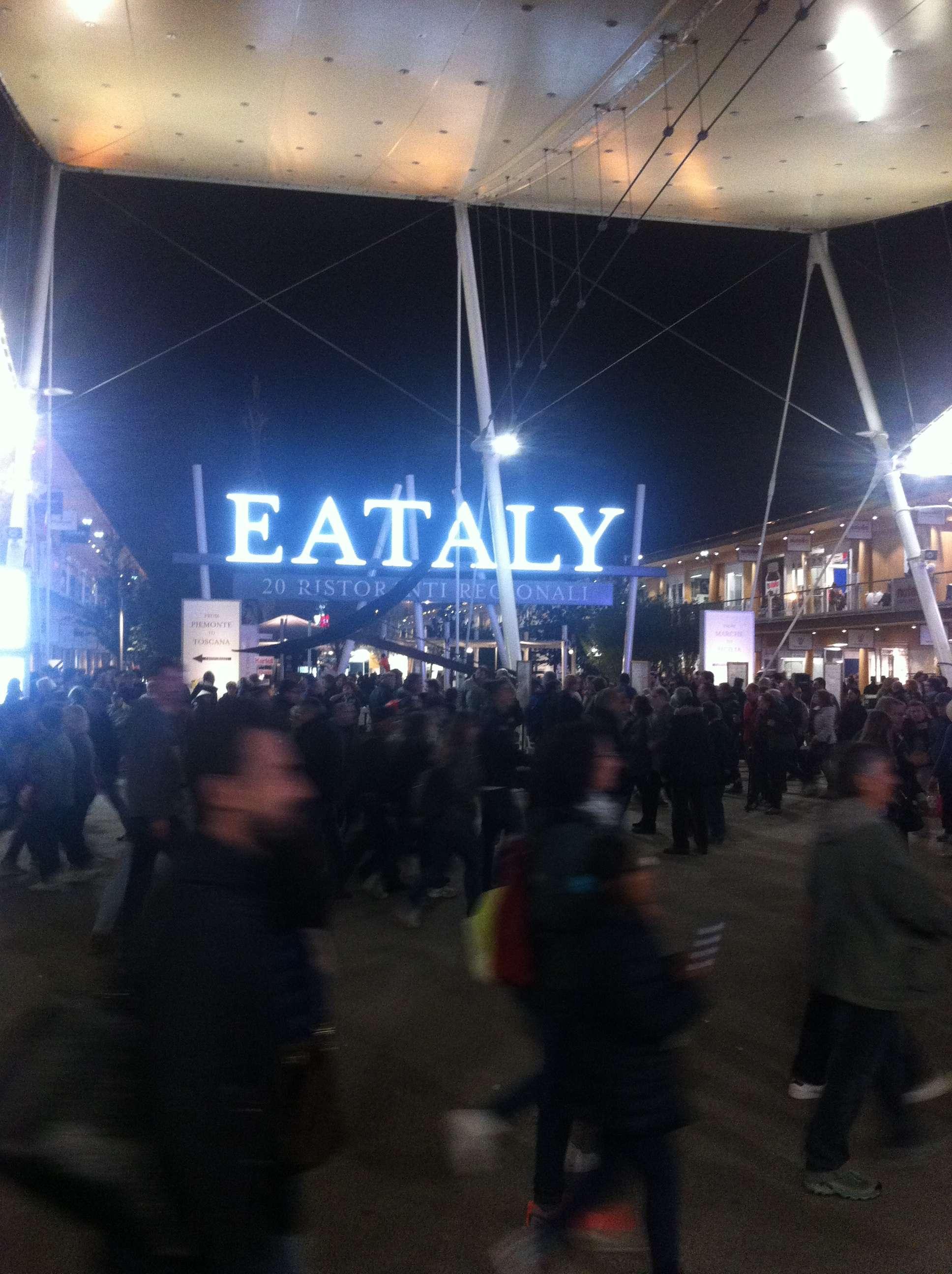 Eataly, unul din locurile unde puteai gàsi din belsug numai (20) restaurante italienesti