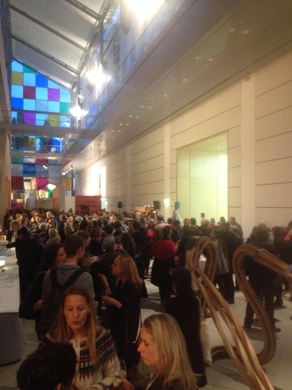 Invitatii la vernisajul expozitiei consacrate lui Tristan Tzara la MAMCS