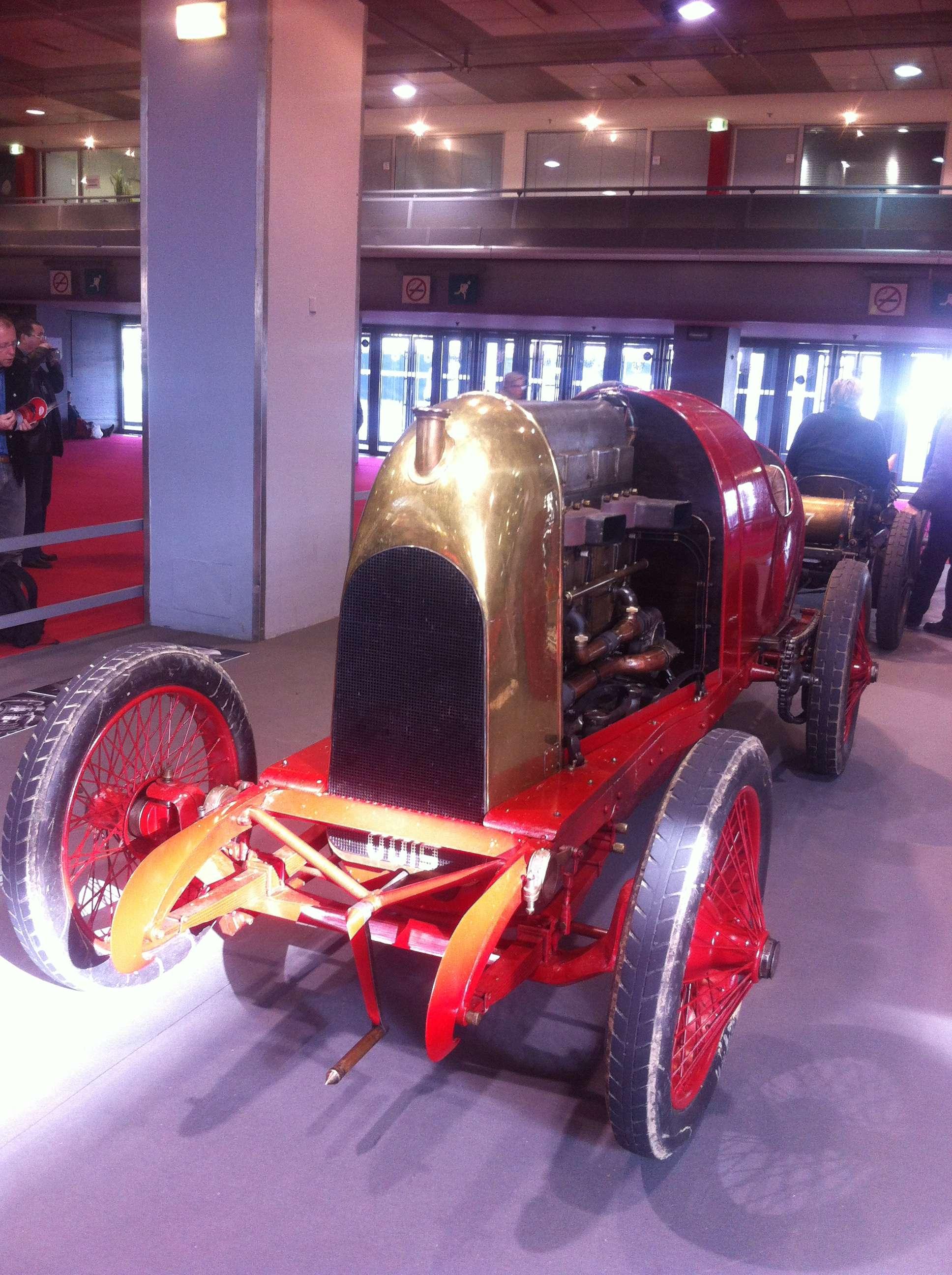 """Fiat S76, """"monstrul din Torino"""", o tonà de metal pe un motor de 300CP, 1911"""