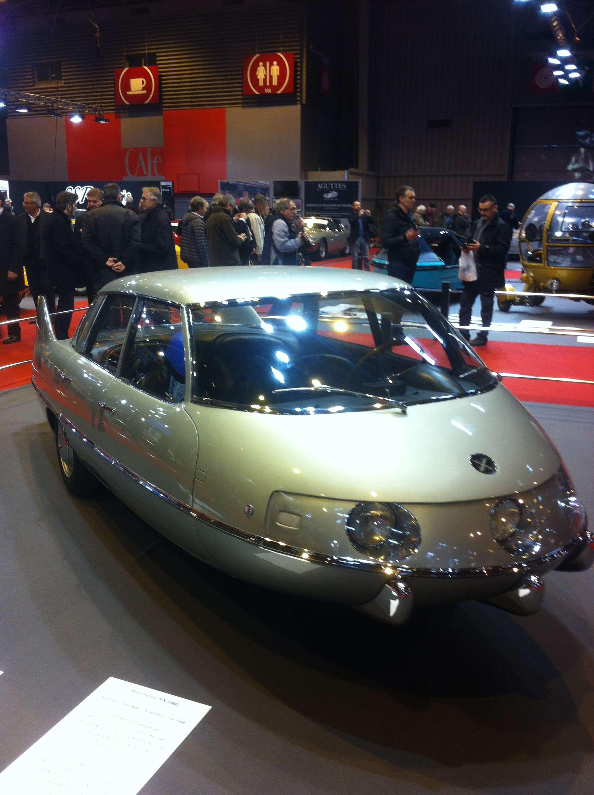 Pininfarina X, 1960, prototip aerodinamic