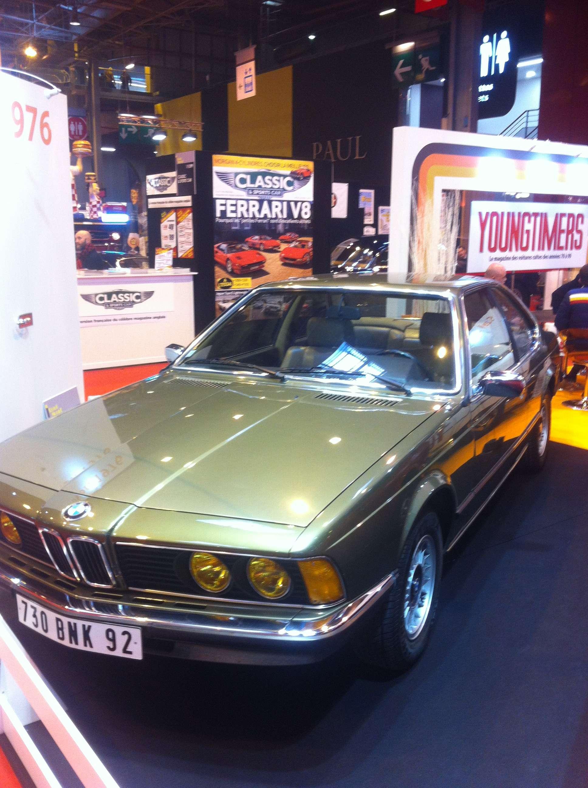BMW, seria 6, lansat în 1976, anul de nastere al salonului Retromobile
