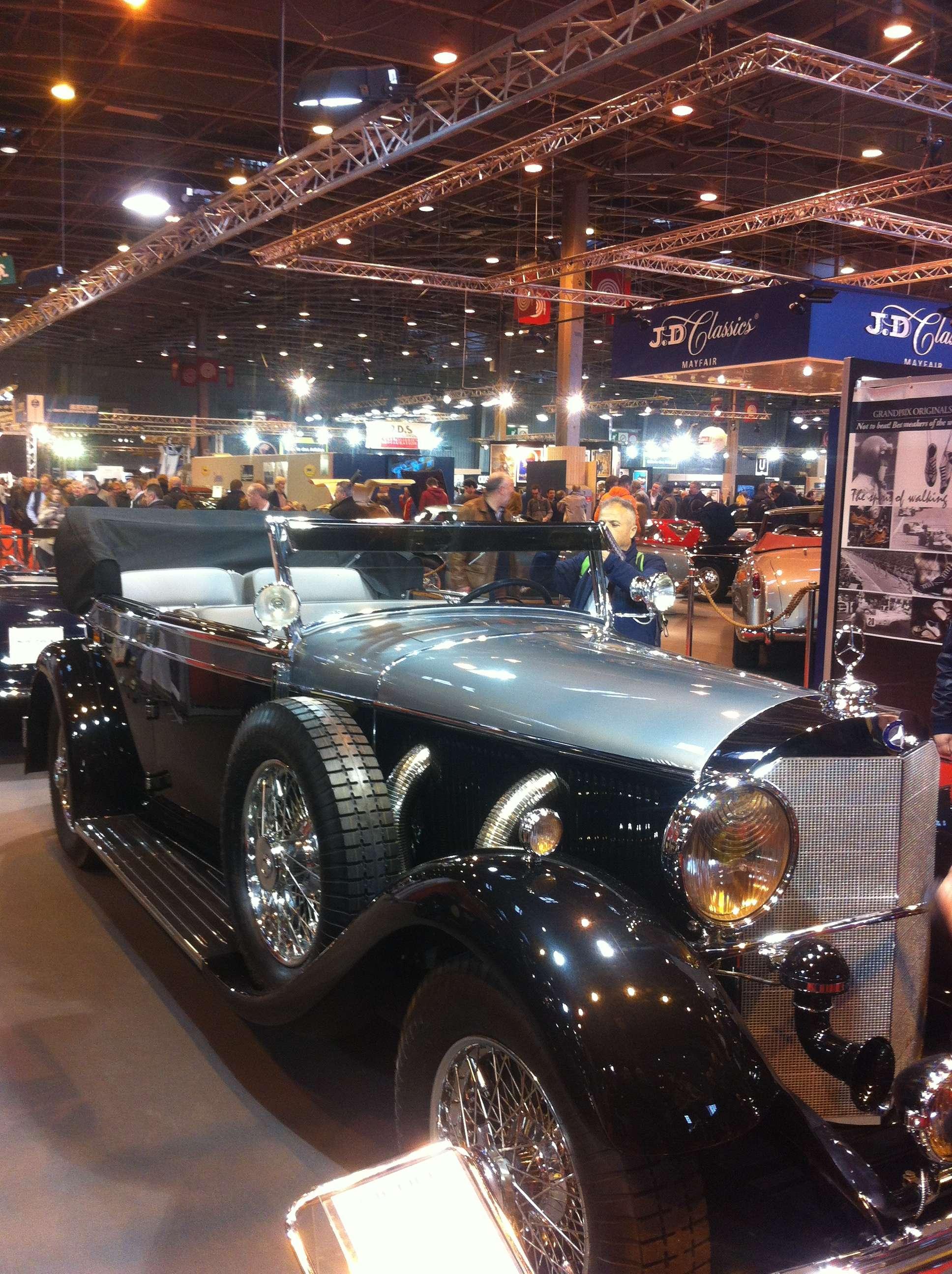 Mercedes-Benz 770 cabrio D, 1931, 8 cilindrii în linie, 7665 cm3, fabricat doar în 18 exemplare