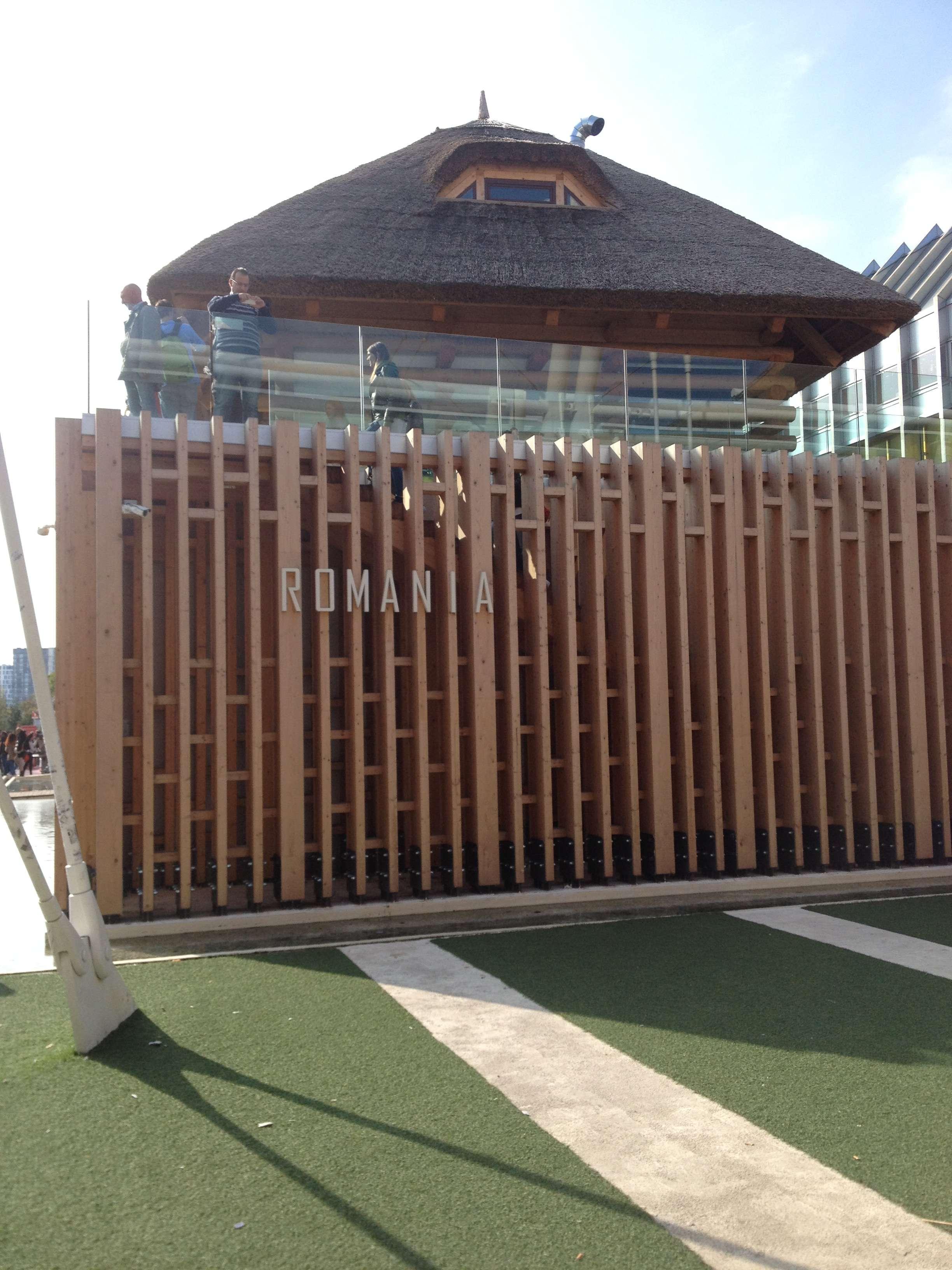 Pavilionul României de la Expo 2015