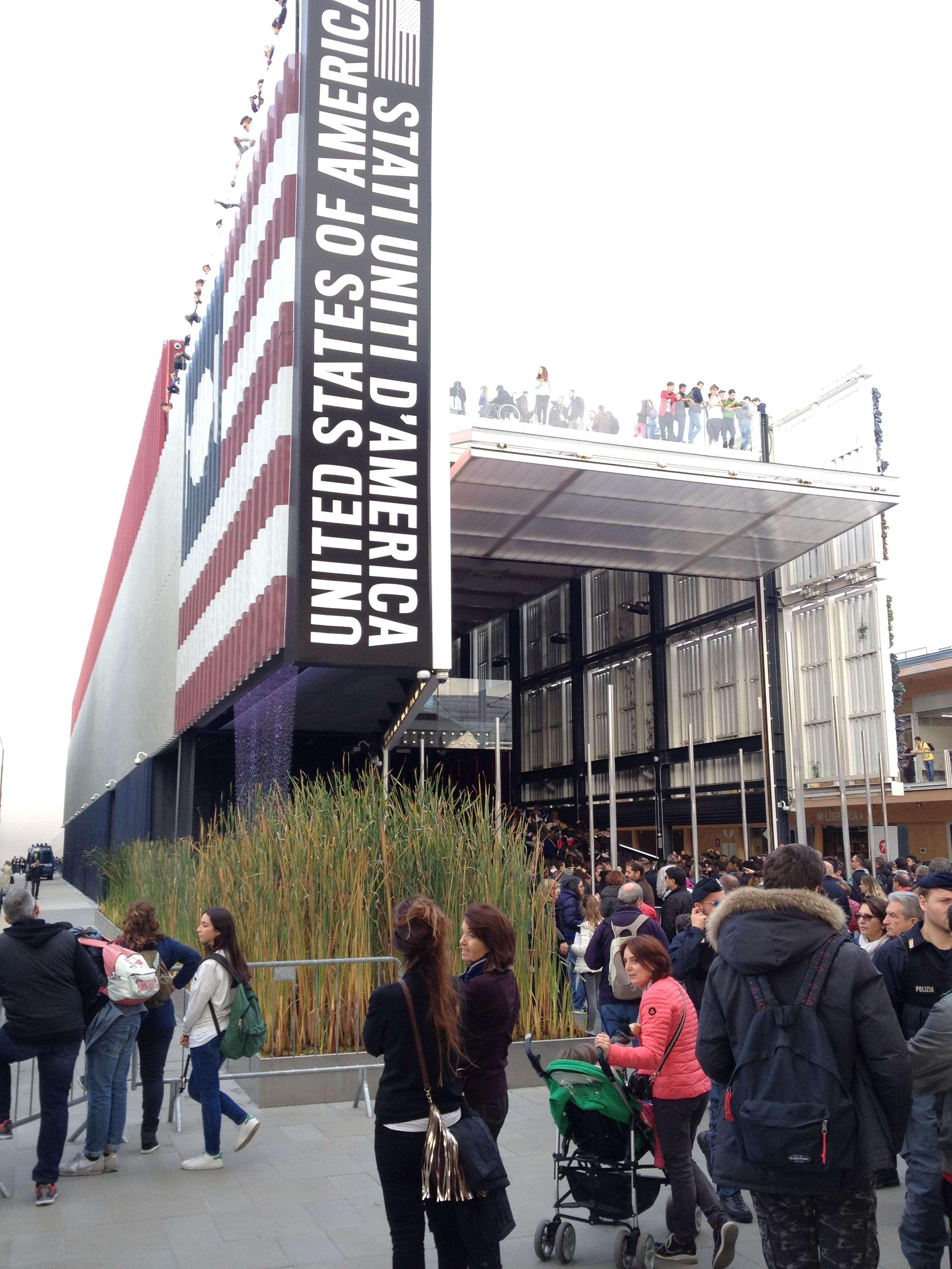 Pavilionul SUA la Expo 2015