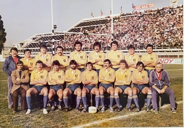Echipa României care a învins Franța în 1982