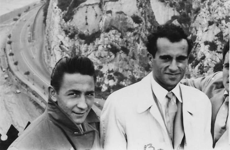 Aurel Barbu (dreapta) si Alex Penciu