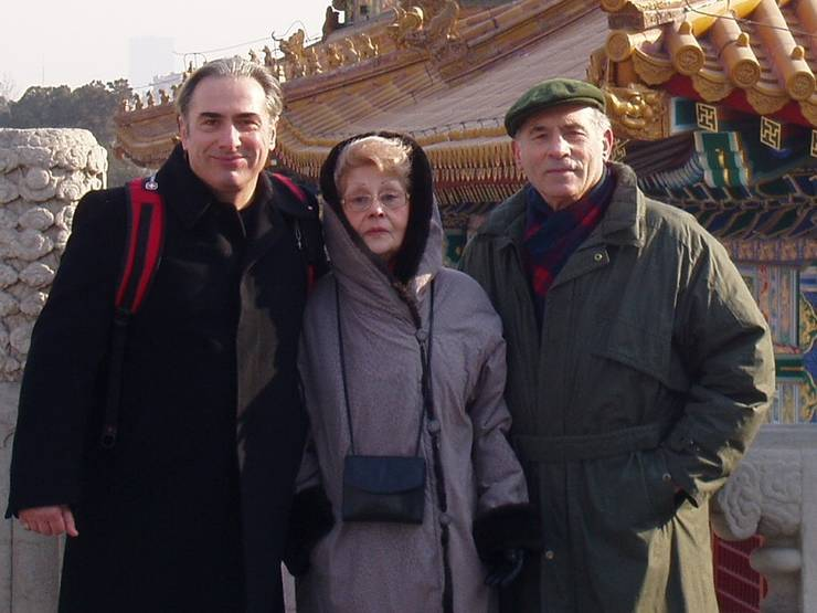 Bogdan (stânga), Mariana și Alex Teofilovici