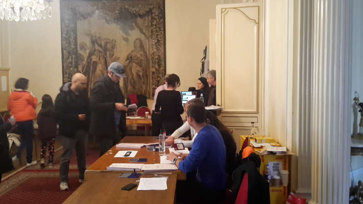 Votare la secția ICR Londra