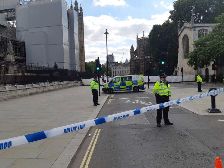 Circulație suspendată la Westminster