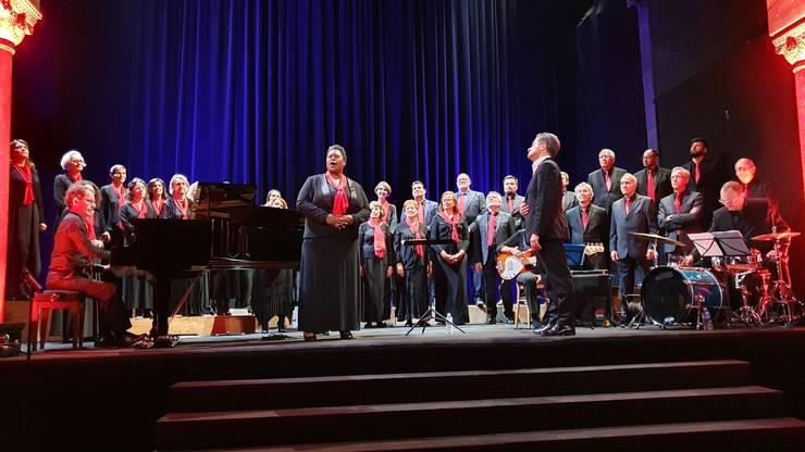 Muzica gospel si negro spiritual a fost si ea prezentà în repetoriul concertului dat de Crescendo în Sala Bizantinà.