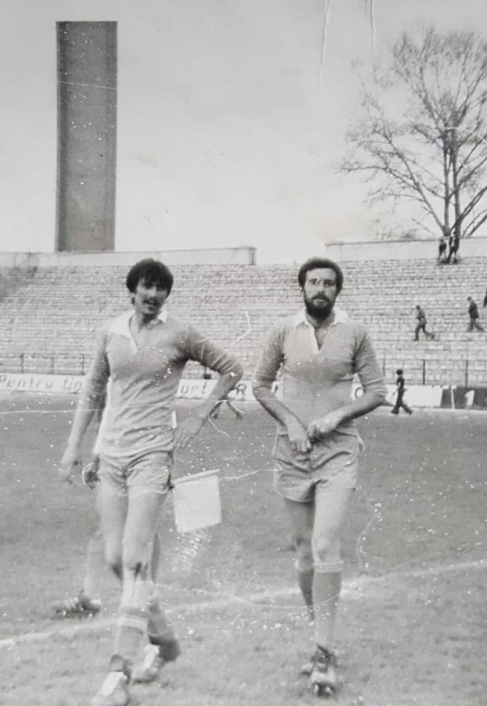 Ștefan Constantin (stânga) și fratele său mai mare, Florin Constantin