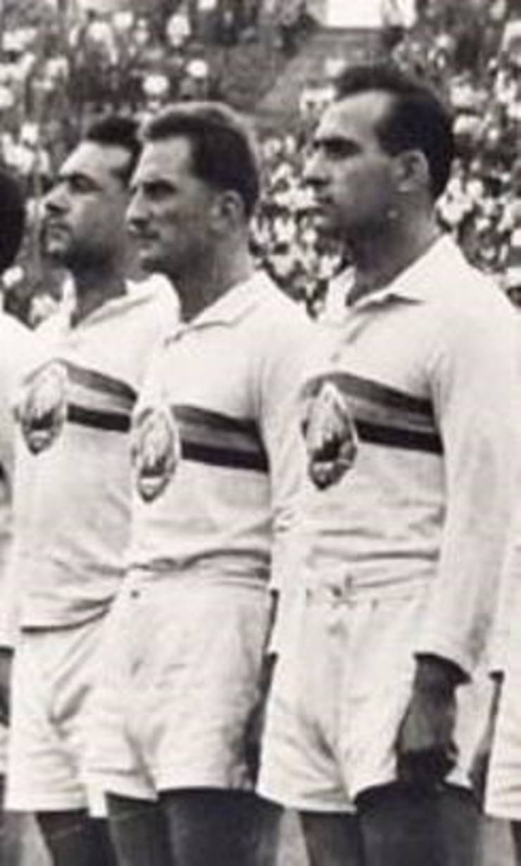 De la dreapta: Alex Teofilovici, Nicolae Căpușan, Lică Cotter