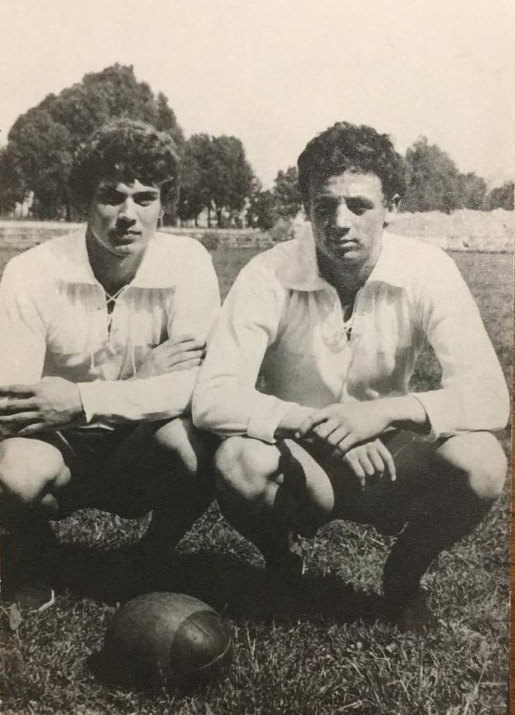 Adrian Lungu (stânga) și Gheorghe Vărzaru