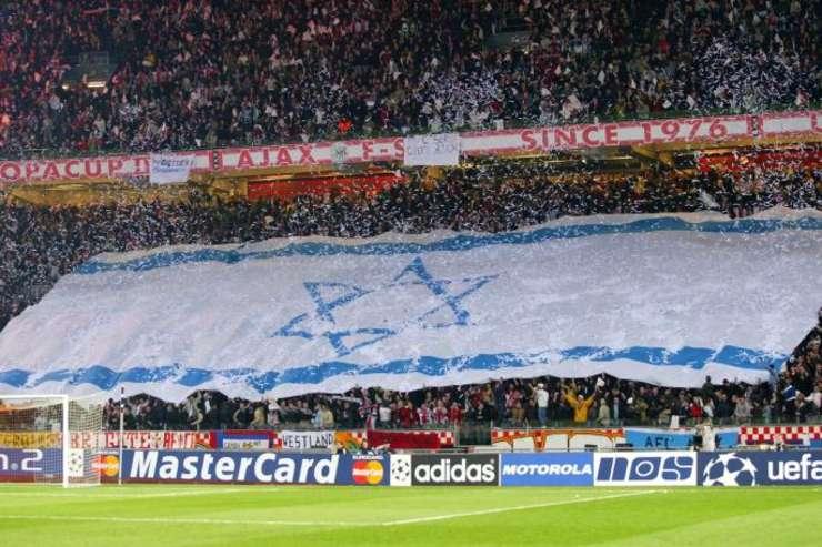 Suporteri la un meci al lui Ajax Amsterdam