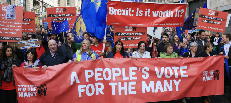 Campanie în favoarea unui al doilea referendum