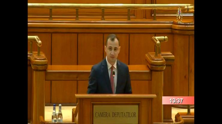 Alfred Simonis critică Guvernul Orban (captură video)