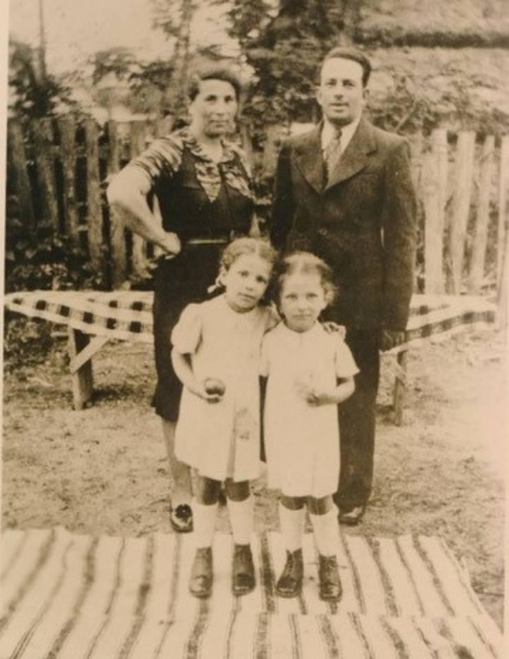 Familia unchiului lui Alti Rodal înainte război