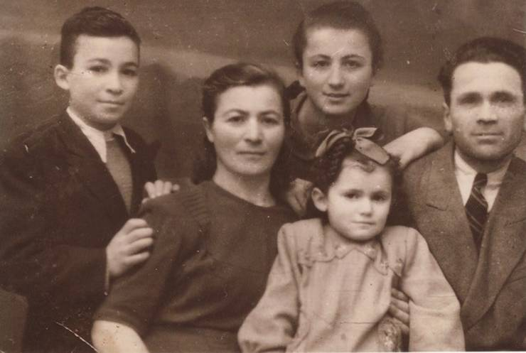 Familia lui Alti Rodal după război