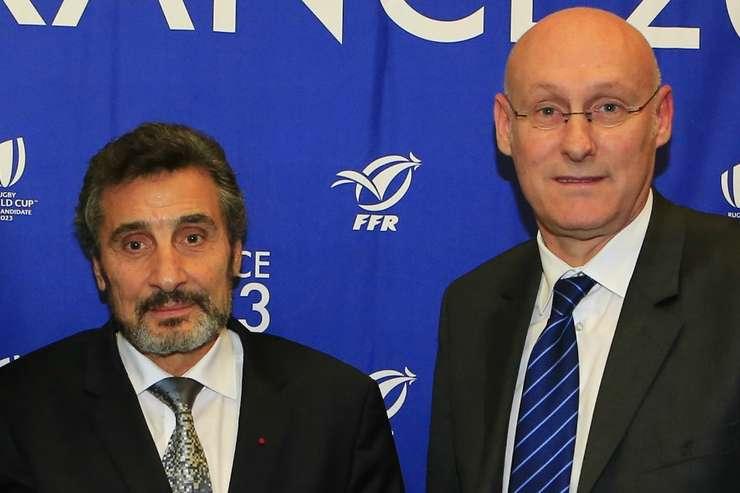 Merad Altrad cu Bernard Laporte