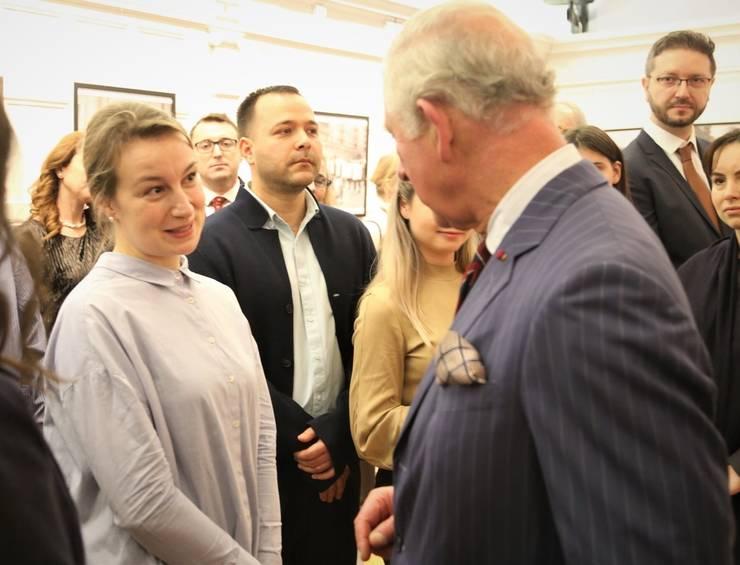 Anamaria Marinca cu Prințul Charles