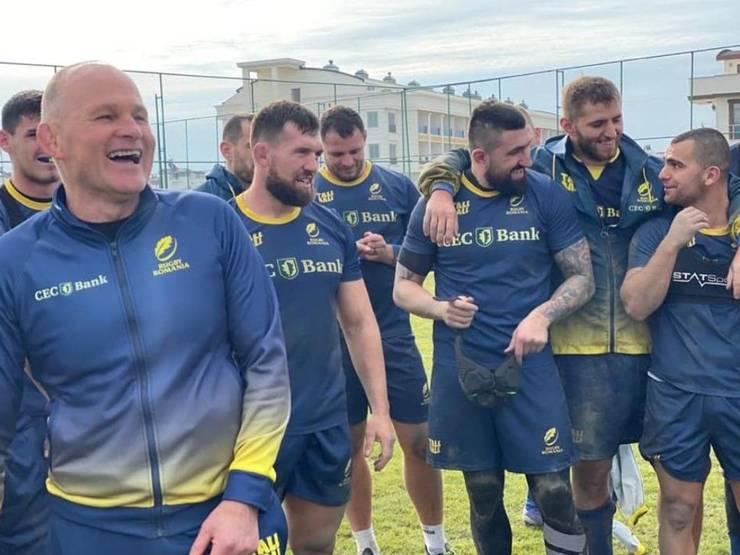 Andy Robinson și echipa României