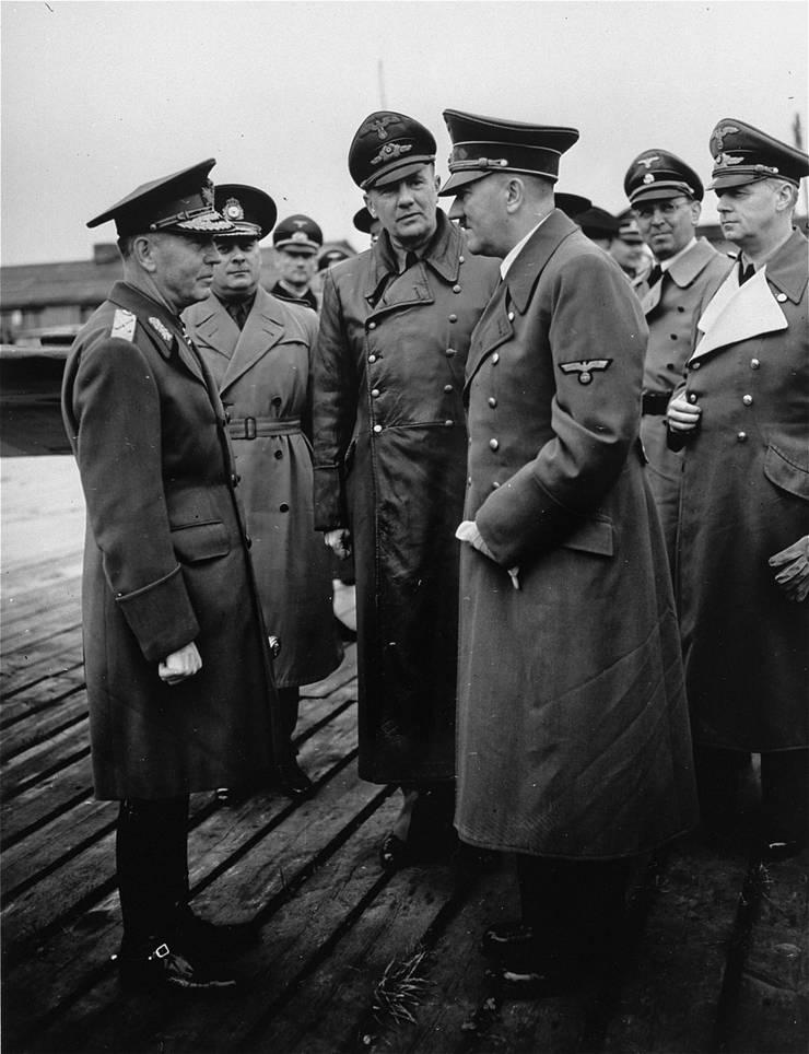 Ion Antonescu cu Adolf Hitler