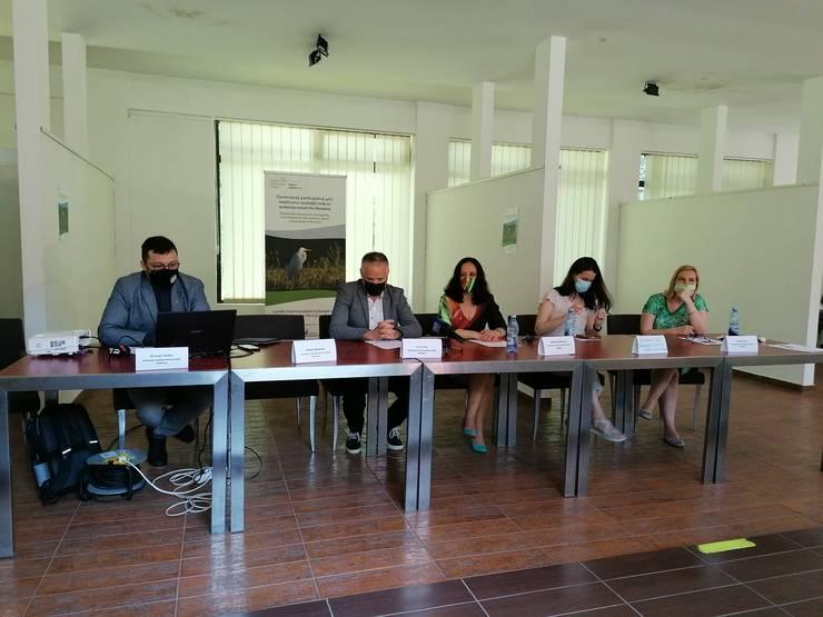 Imagine de la conferința de presă a Federației Coaliția Natura 2000 (Foto: RFI/Cosmin Ruscior)