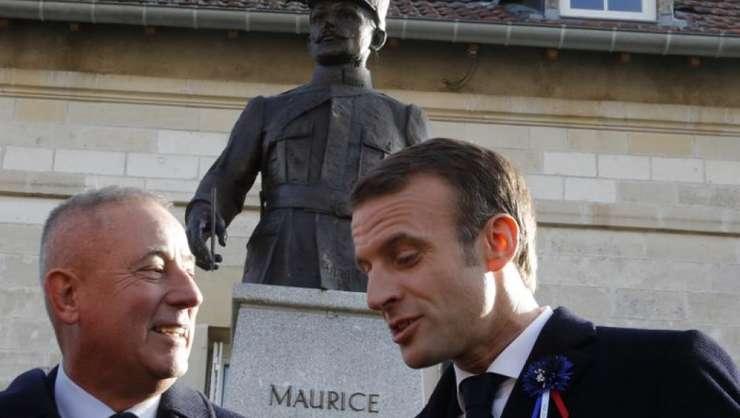 În localitatea Eparges, pe data de 6 noiembrie 2018, Emmanuel Macron anunţă că Maurice Genevoix va fi onorat la Panteon.