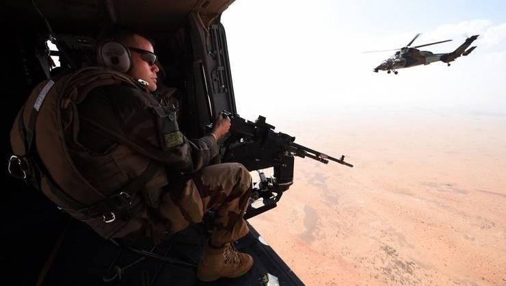 "Elicopter al misiunii ""Barkhane"" în Mali"