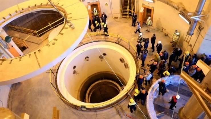 Iran, reactorul nuclear de la Arak, decembrie 2019