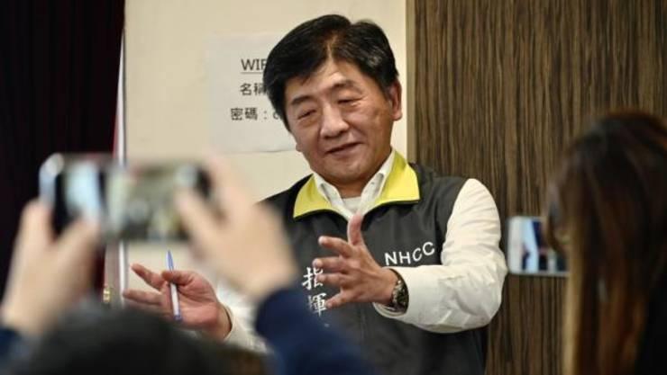 Chen Shih-chung, ministrul sanatatii din Taiwan