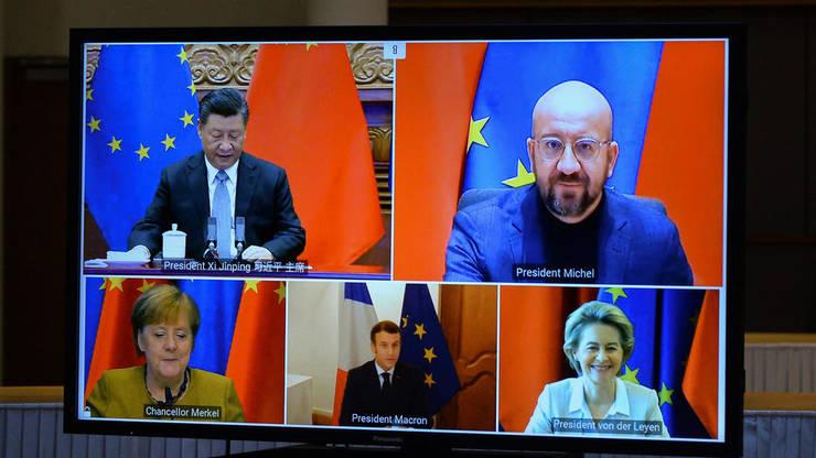 Videoconferinţă China - UE, 30 decembrie 2020