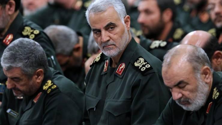 Generalul Qassem Soleimani la Teheran în 2016.