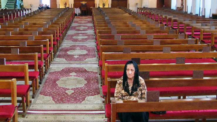 Biserica Sfîntul Iosif din Bagdad, fotgrafie datînd din 2013.