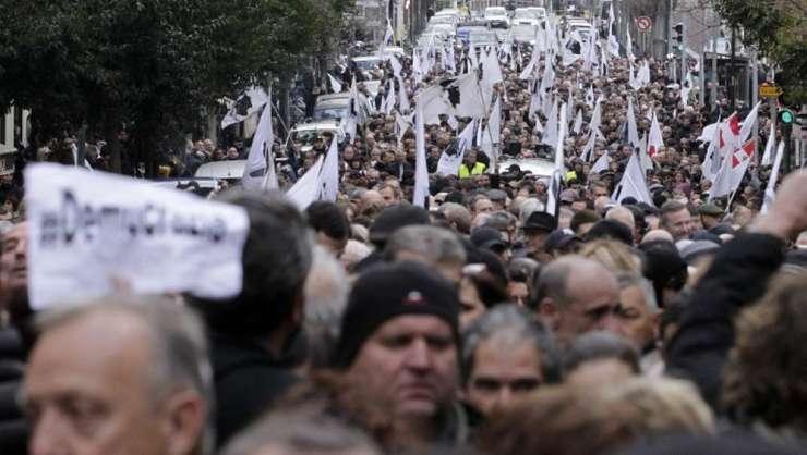 Manifestatie nationalista la Ajaccio pe 3 februarie 2018
